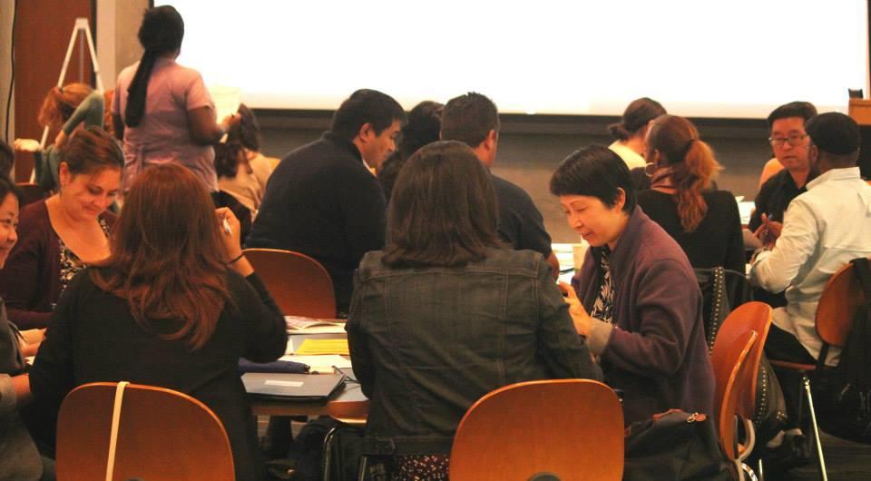 people in workshop